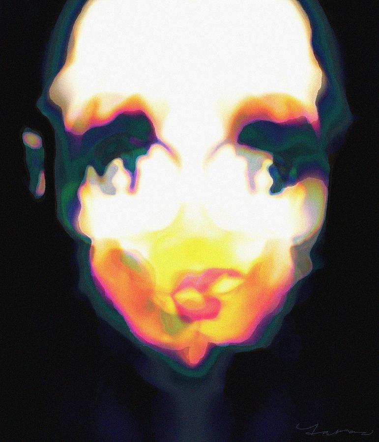 Clown Digital Art - Inner by Tamara Natividad