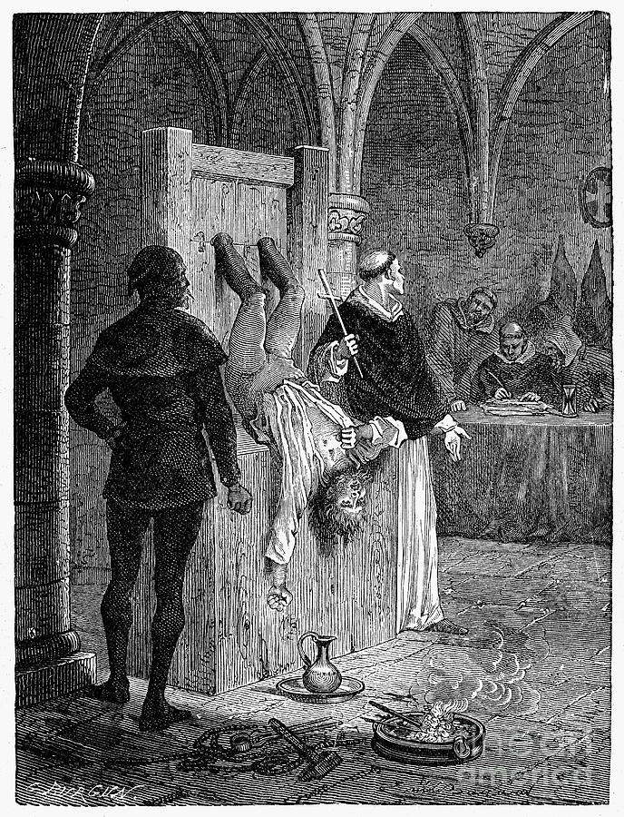 16th Century Photograph - Inquisition: Torture by Granger