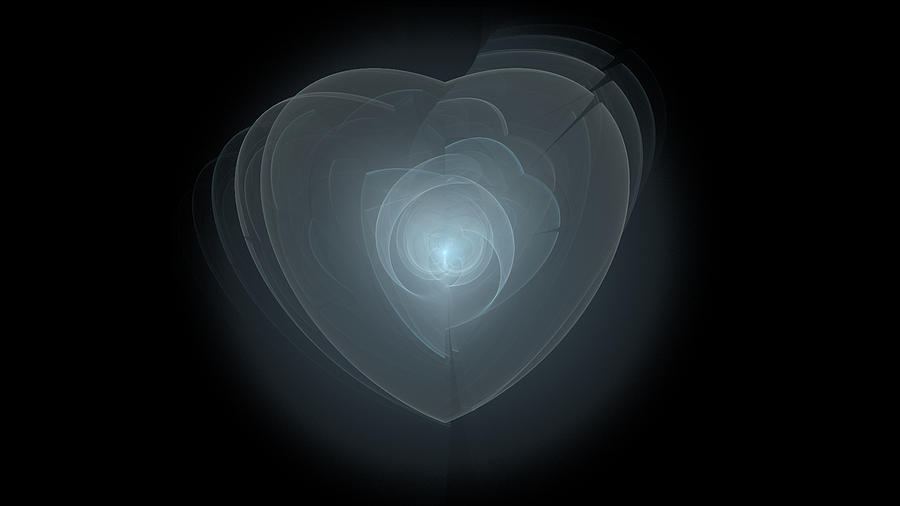 Inside A Scorned Heart Digital Art by Pennie Gibson