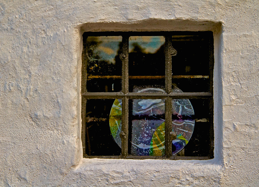 Window Photograph - Inside Space by Odd Jeppesen