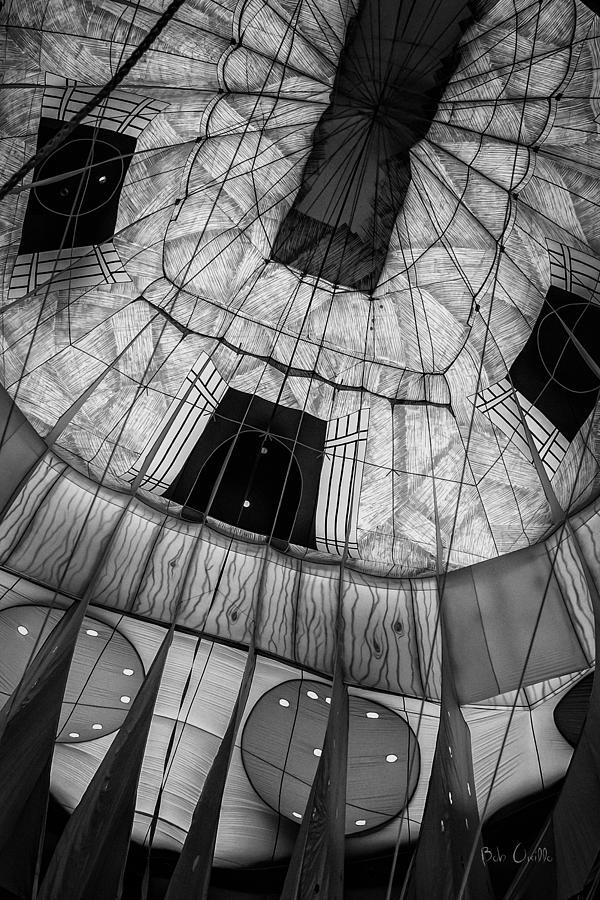 Hot Air Balloon Photograph - Inside The Balloon Two by Bob Orsillo