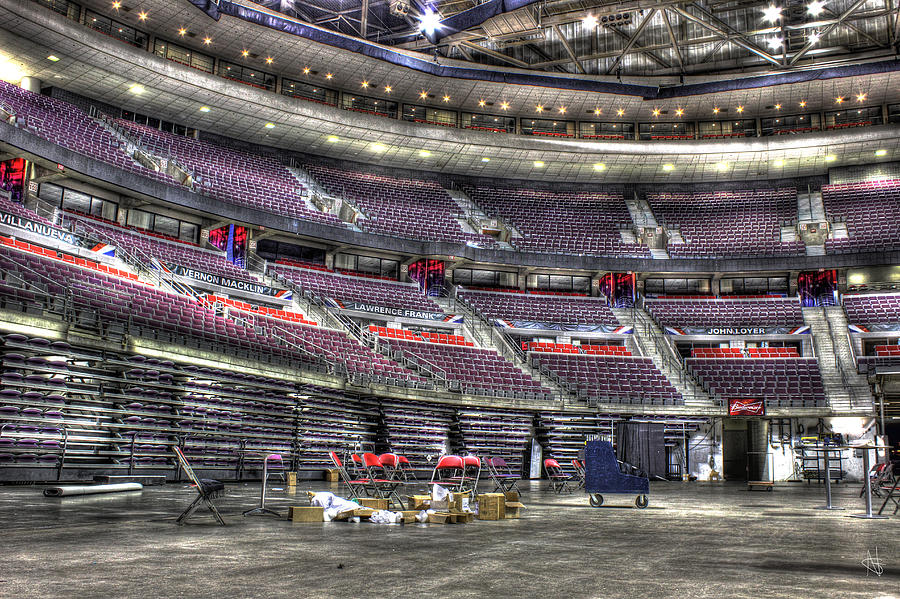 Inside The Palace Of Auburn Hills Mi Photograph By