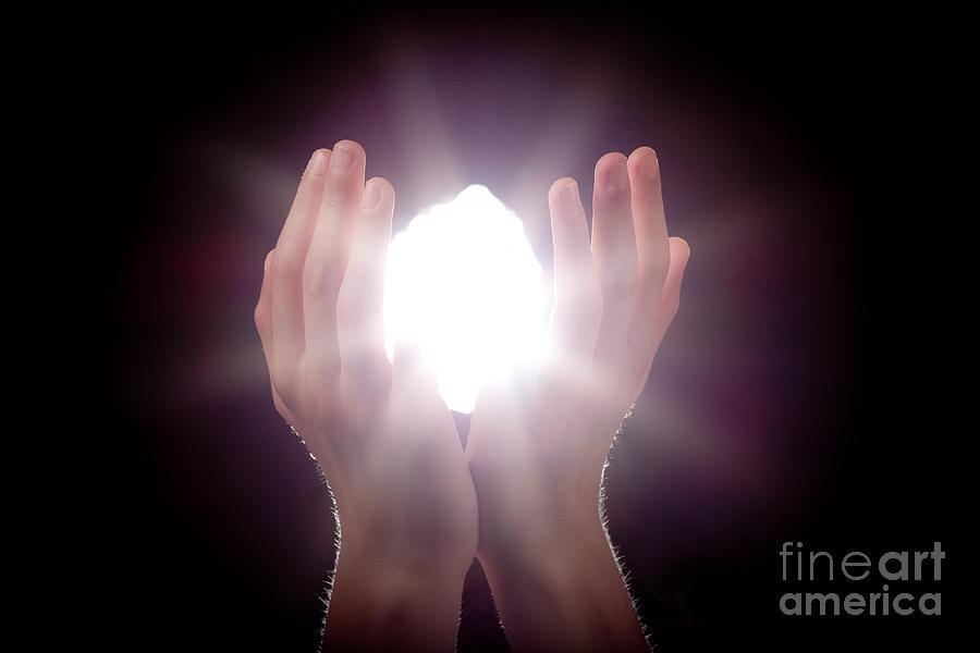 Light Photograph - Inspiration by Cindy Singleton