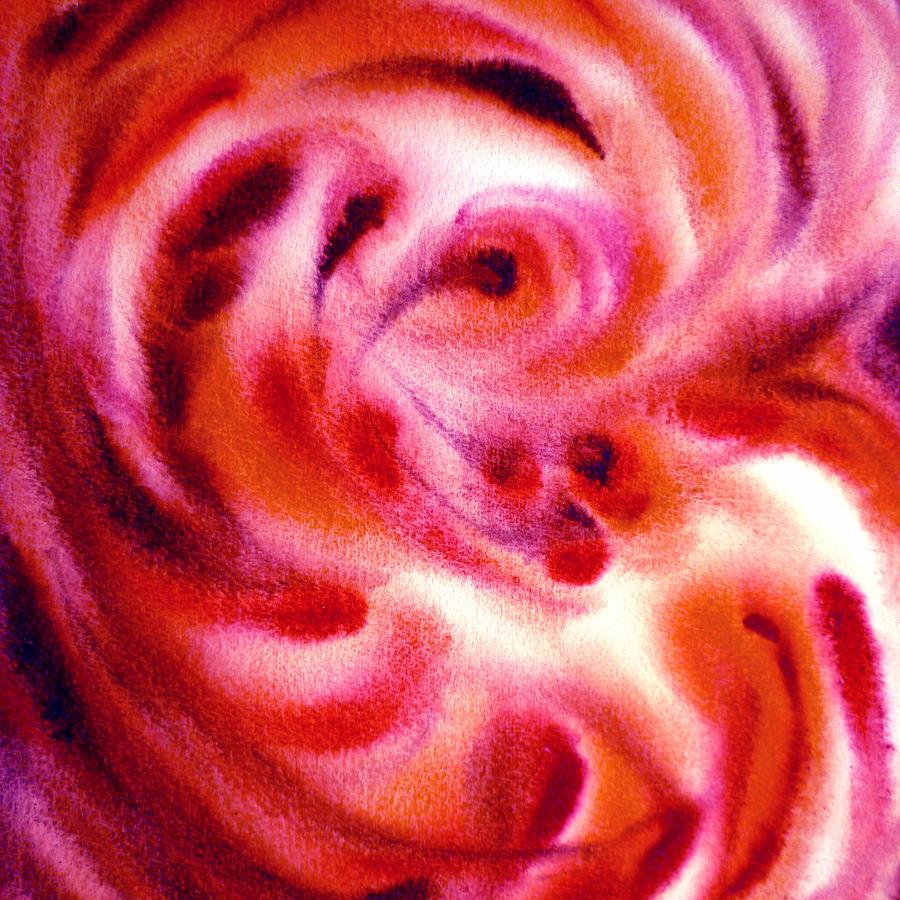 Abstract Painting - Inspiration Three C by Irina Sztukowski