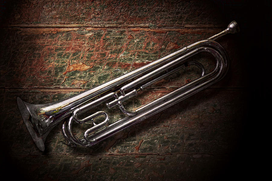Bugle Photograph - Instrument - Horn - The Bugle by Mike Savad