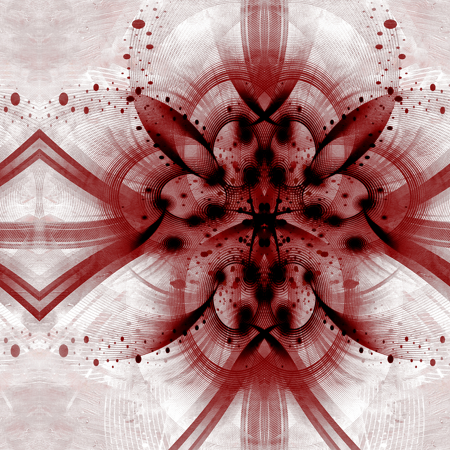 Id Mixed Media - Intelligent Design 1 by Angelina Vick