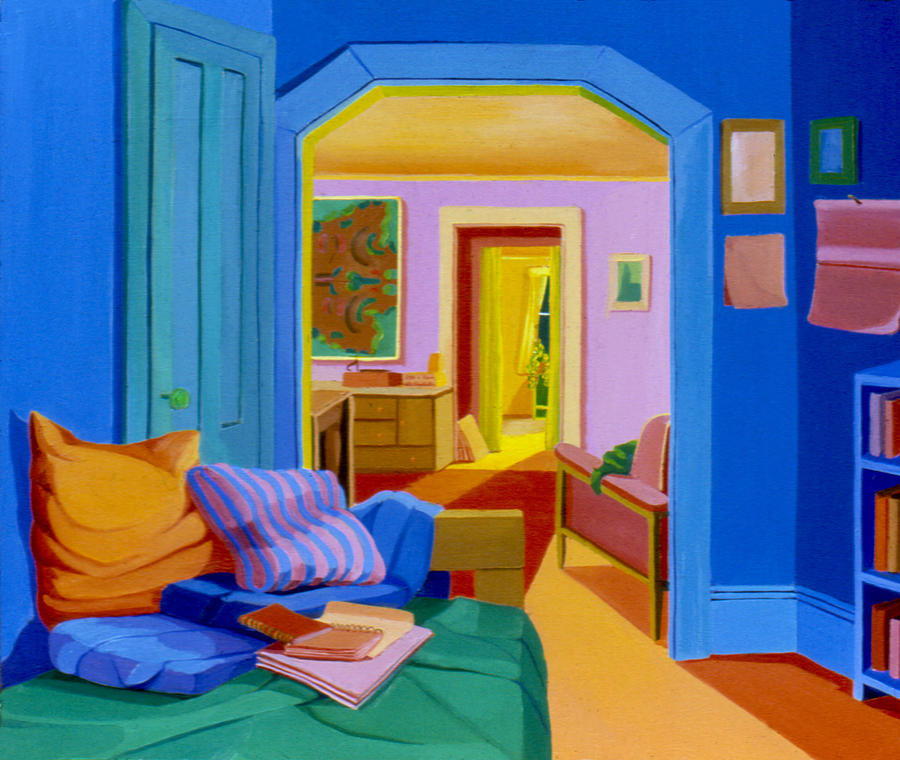 Interior Painting   Interior Rooms 1977 By Nancy Griswold