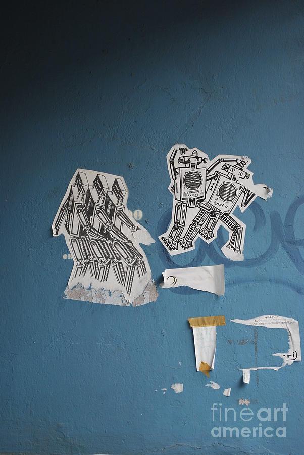 Robots Photograph - International Robots by Jen Bodendorfer