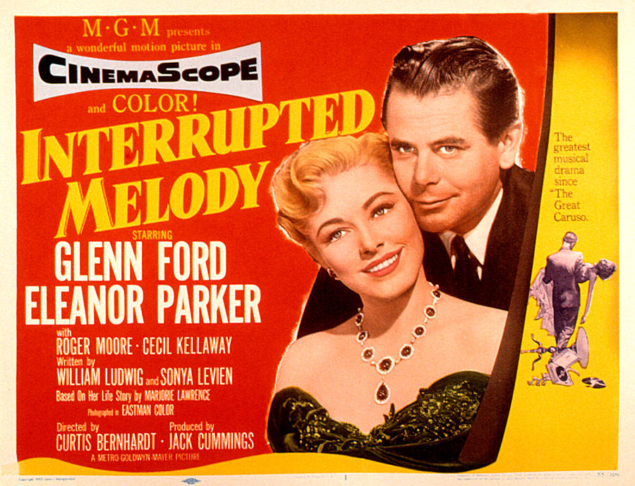 1955 Movies Photograph - Interrupted Melody, Eleanor Parker by Everett