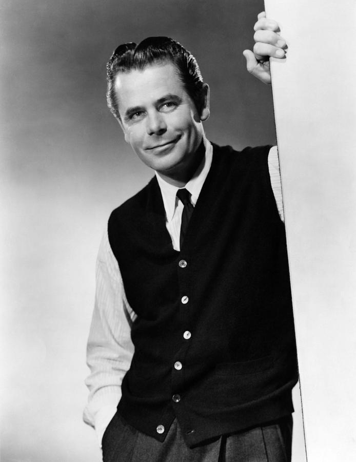 1955 Movies Photograph - Interrupted Melody, Glenn Ford, 1955 by Everett