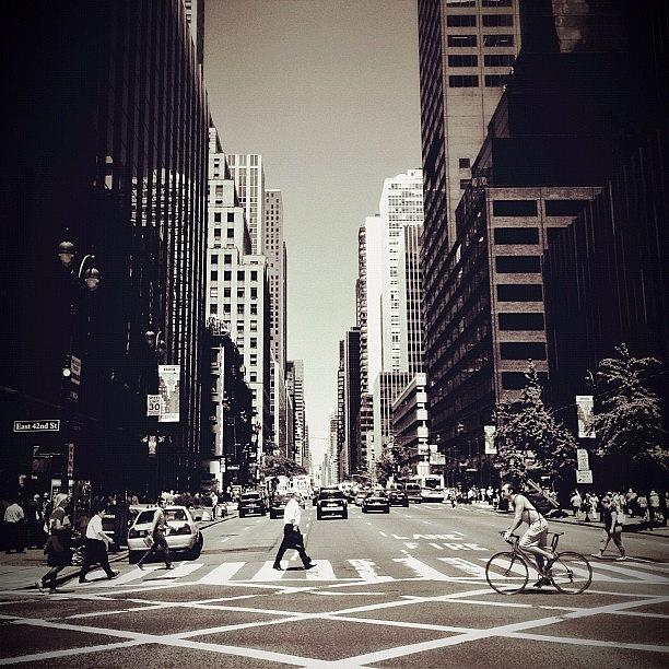 New York City Photograph - Intersection - New York City by Vivienne Gucwa