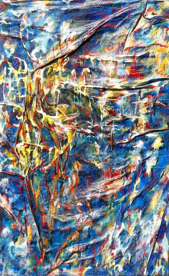 Artiste Josee Hatin Painting - Intimate Night by Hatin Josee