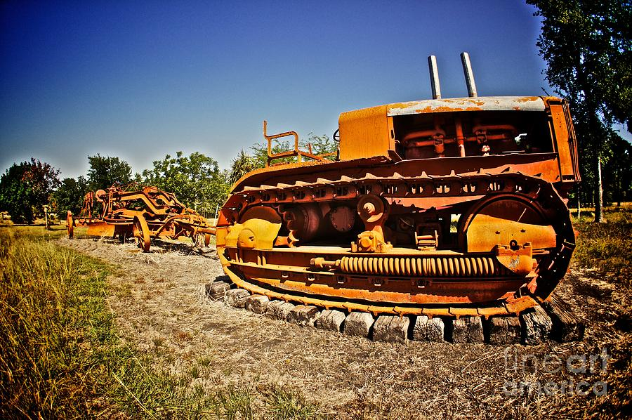 Tractor Photograph - Into The Farm by Will Cardoso