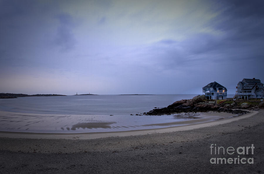 Cape Ann Photograph - Into The Night In Cape Ann by Brenda Giasson