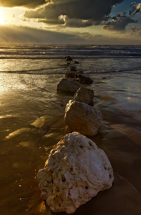 Nadya Photograph - Into The Sea by Nadya Ost