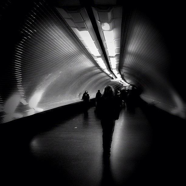 Noir Photograph - Into The Wormhole by Robbert Ter Weijden