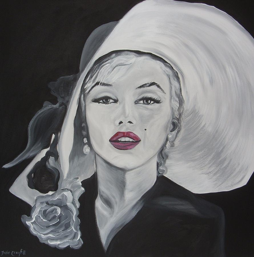 Introducing Marilyn Painting By Julie Cranfill
