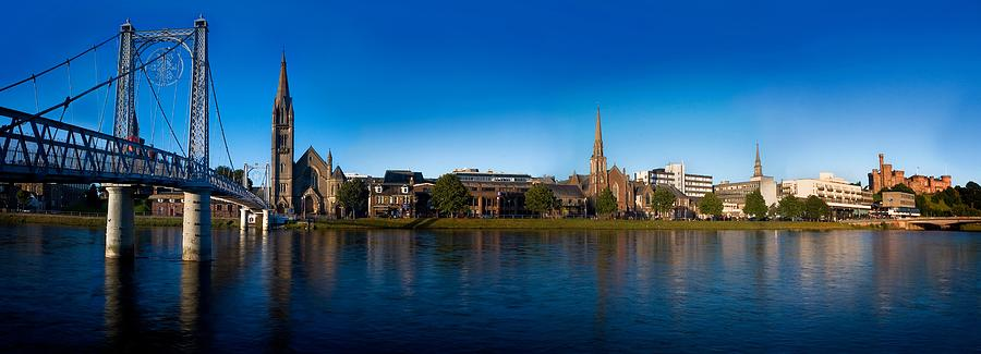 Inverness waterfront by Joe Macrae