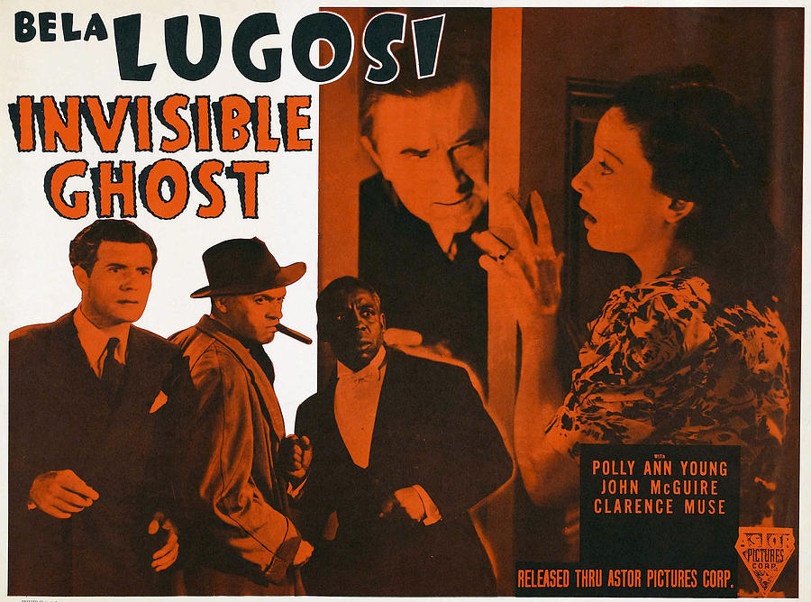 1940s Movies Photograph - Invisible Ghost, Trio On Bottom Left by Everett