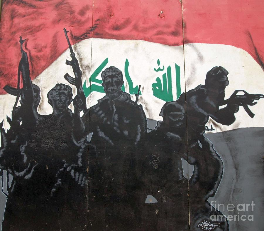 Iraqi Special Forces Photograph - Iraqi Special Forces by Unknown