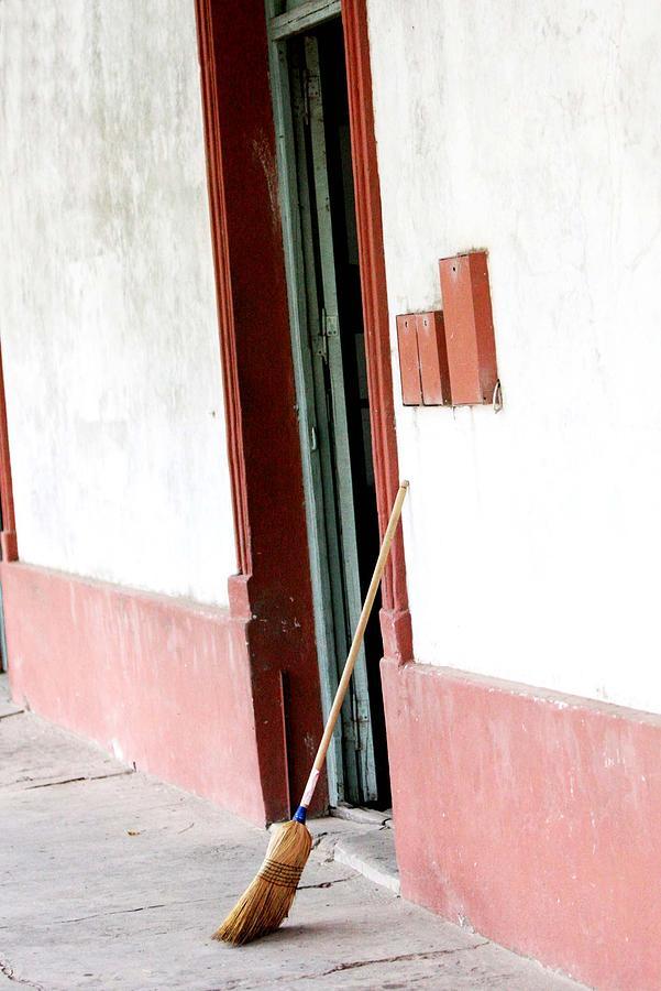 Old Houses Photograph - Irazusta Market by Pablo  De Loy