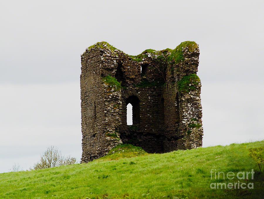 Ireland- Castle Ruins I by Patricia Griffin Brett