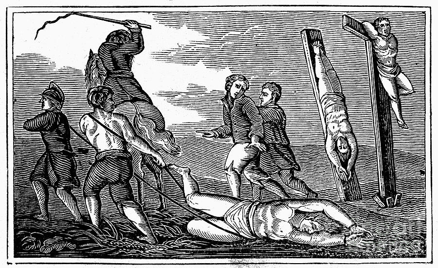 1600 Photograph - Ireland: Cruelties, C1600 by Granger