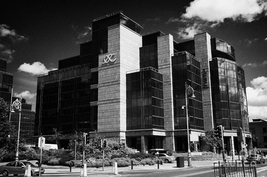 Ireland Photograph - Irelands Ifsc International Financial Services Centre In Dublins Docklands Dublin City Centre by Joe Fox