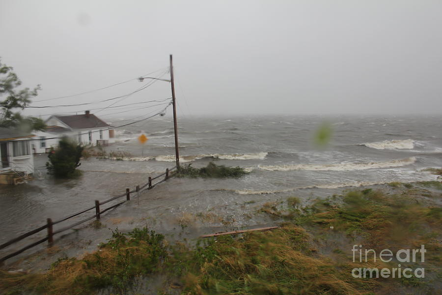 Hurricane Irene Photograph - Irene And The Great South Bay by Scenesational Photos