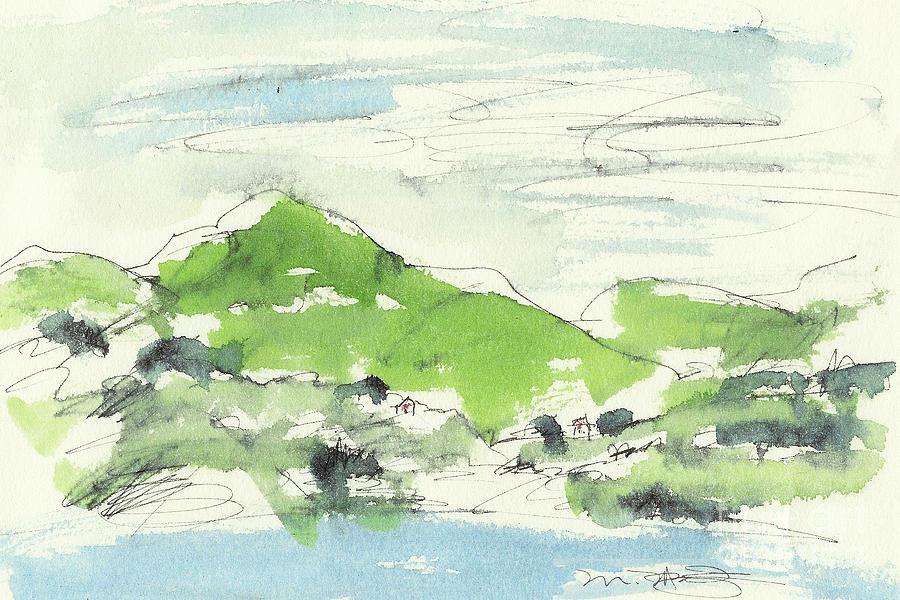 Landscape Painting - Irish Bay by Marilyn MacGregor