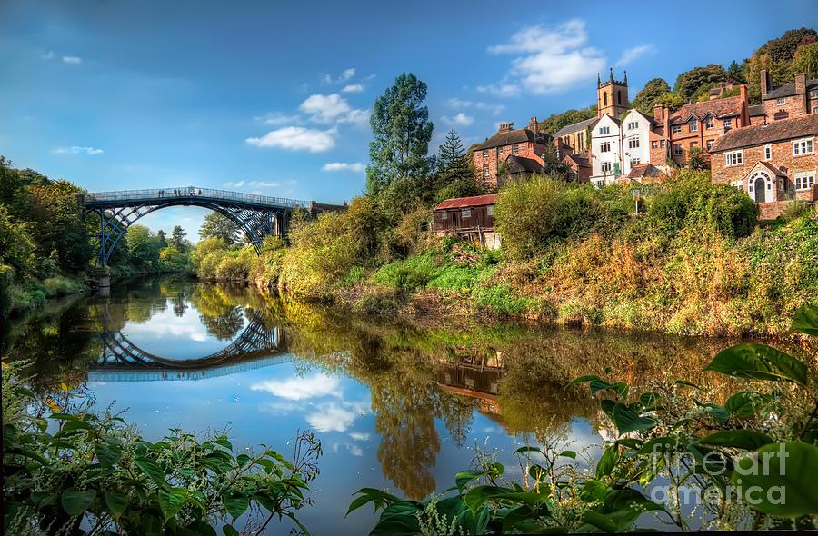 Ironbridge Photograph - Iron Bridge 1779 by Adrian Evans