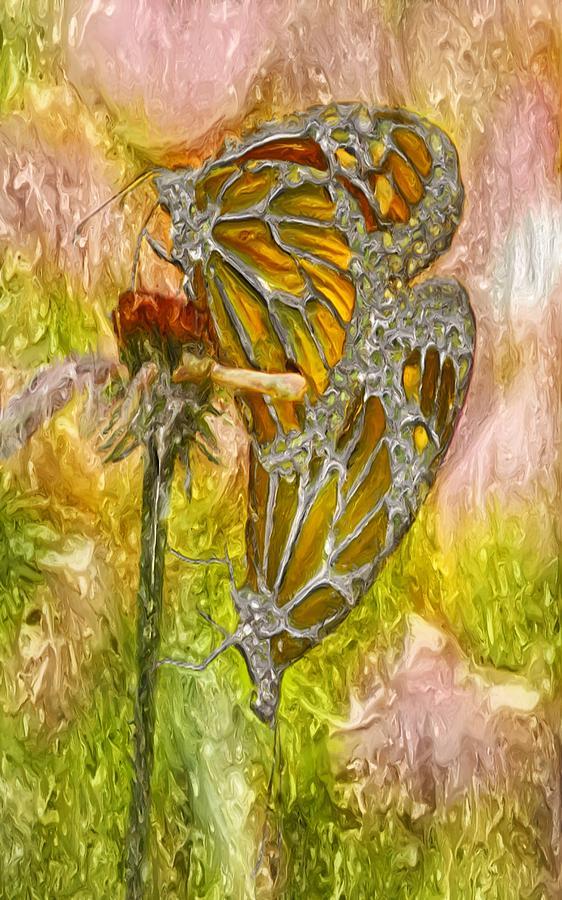 Macro Photograph - Iron Butterflys by Jack Zulli