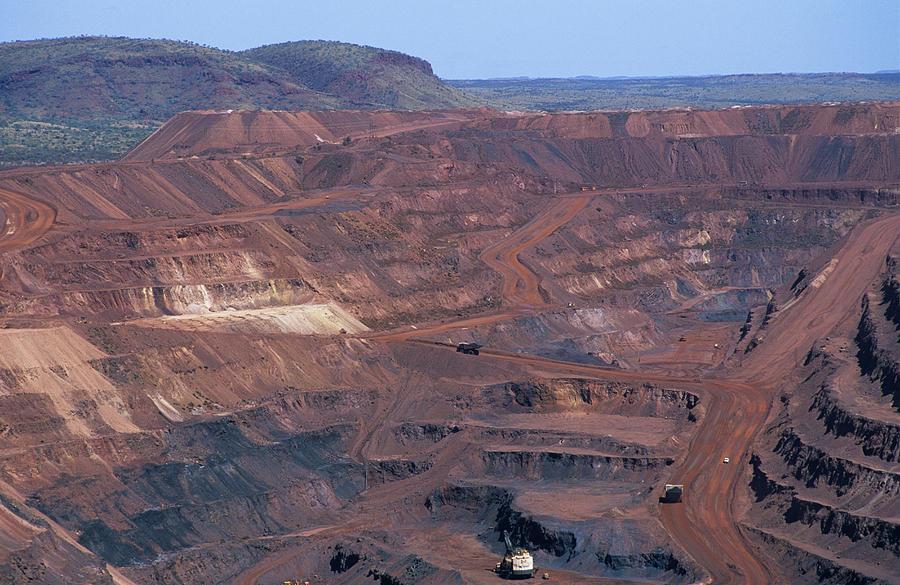 Mine Photograph - Iron Mine by Dirk Wiersma