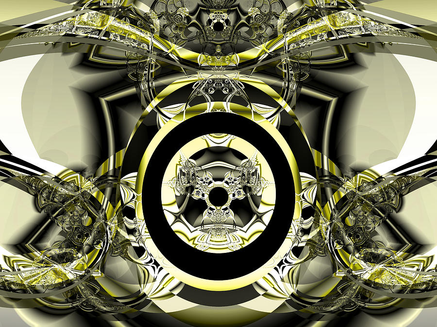 Abstract Digital Art - Iron Work by Frederic Durville