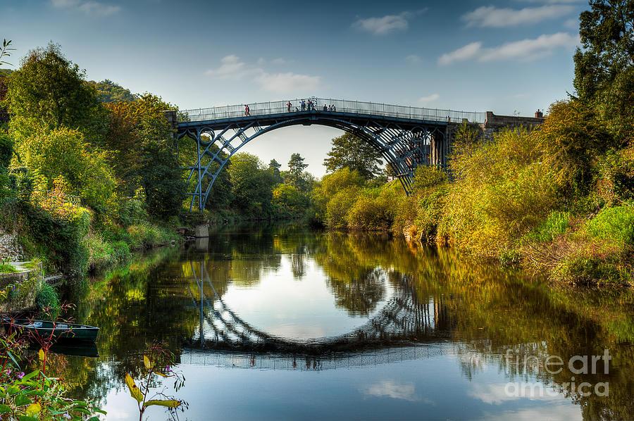 Architecture Photograph - Ironbridge by Adrian Evans