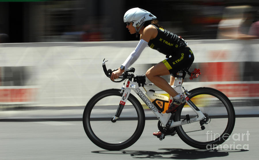 Ironman Photograph - Ironman 2012 Flying By by Bob Christopher