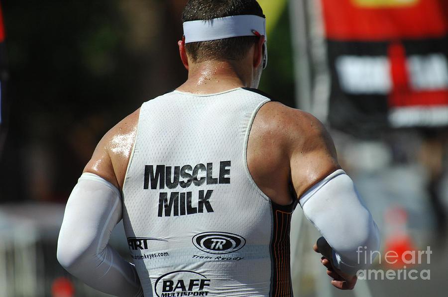 Ironman Photograph - Ironman Muscle Milk by Bob Christopher