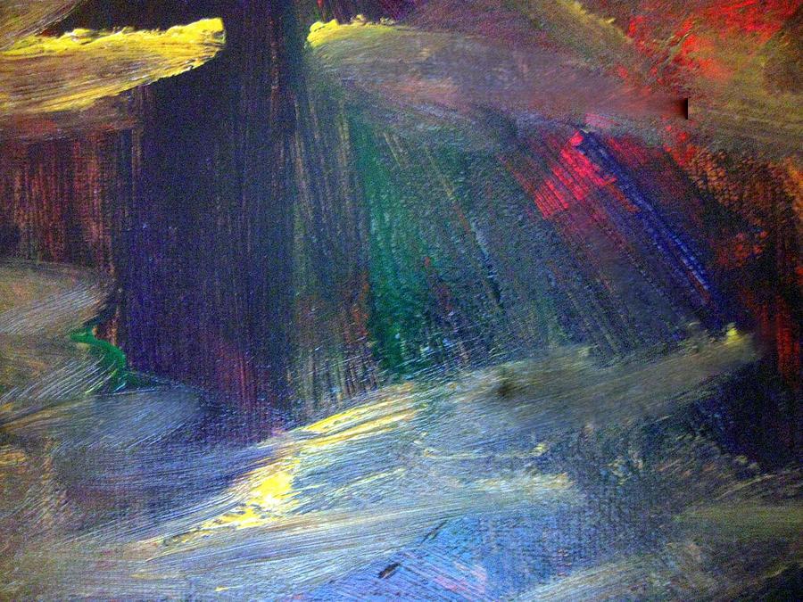 Lies Painting - Irresolute Arousal by Paula Andrea Pyle