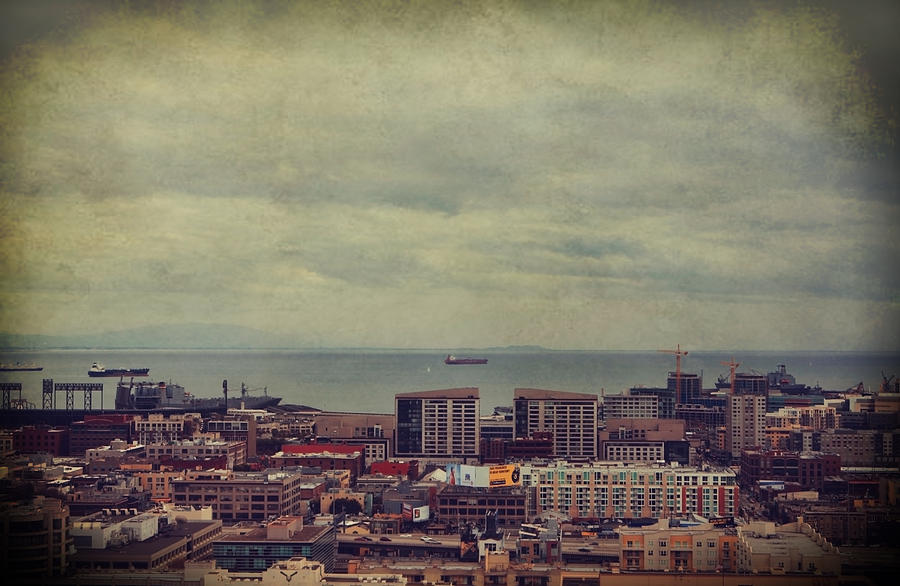 San Francisco Photograph - Is Anybody Out There by Laurie Search