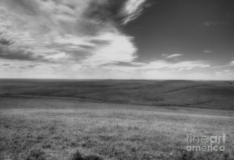 Kansas Photograph - Isaac Over The Preserve by Fred Lassmann