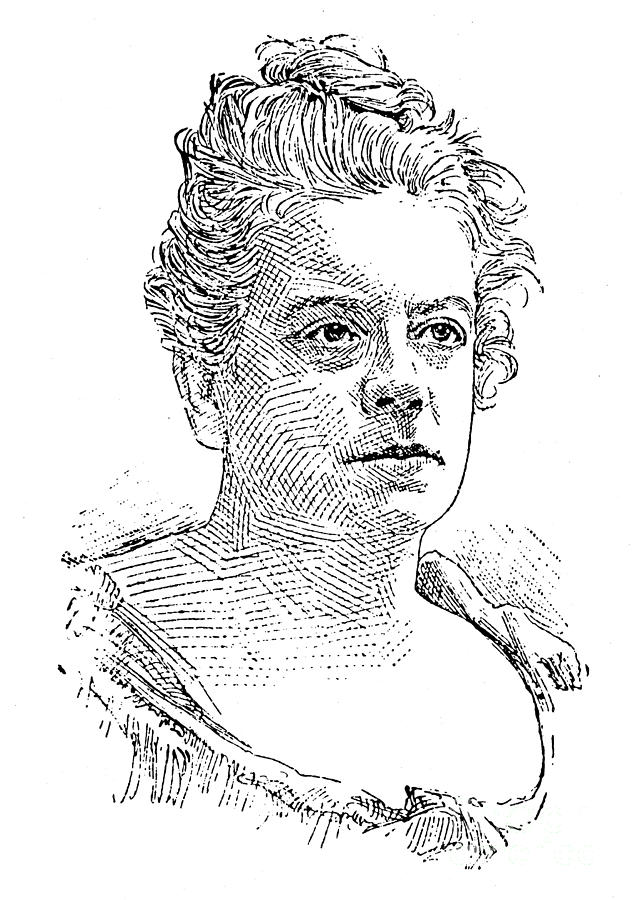 19th Century Photograph - Isabel Florence Hapgood by Granger