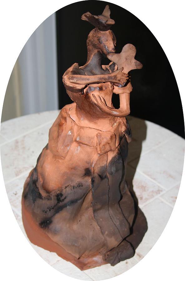Jesus Sculpture - Isabella by Gloria Ssali