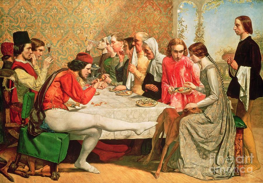 Isabella Painting - Isabella by Sir John Everett Millais