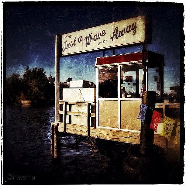 Nautical Photograph - Island Dock by Natasha Marco