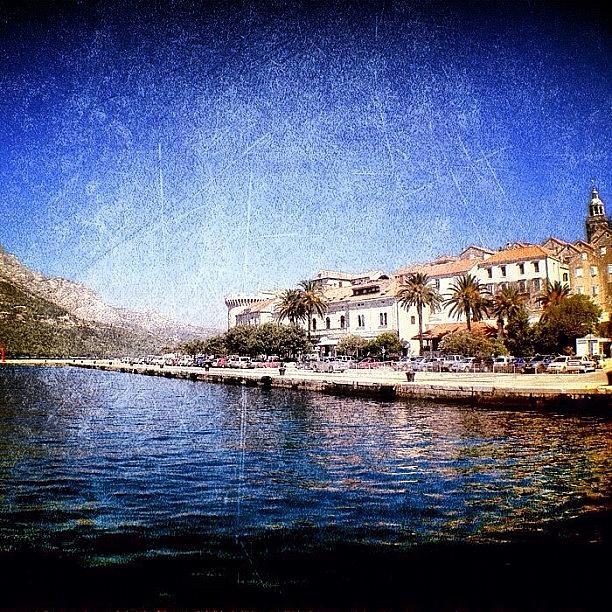 Edit Photograph - Island Hoping #edit #croatia by Alan Khalfin