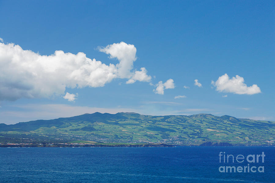 Island Photograph - Island On The Horizon by Gaspar Avila