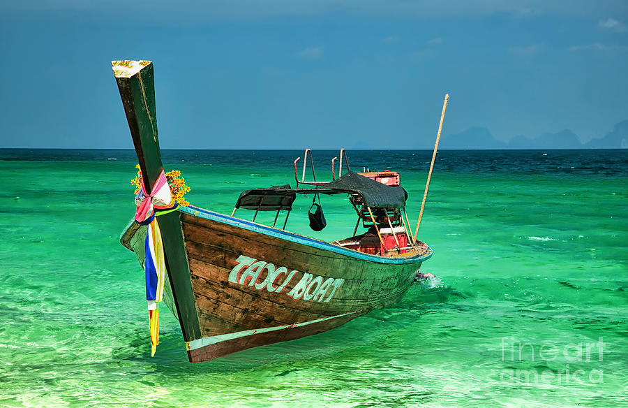 Asia Photograph - Island Taxi  by Adrian Evans