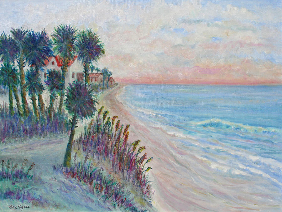 Seascape Painting - Isle of Palms by Ben Kiger