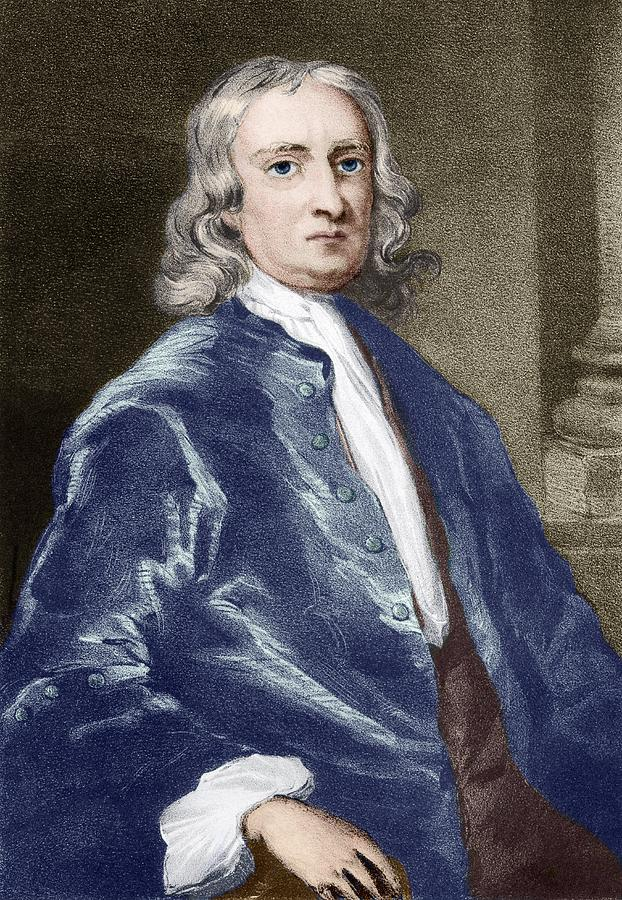 Isaac Newton Photograph - Issac Newton, English Physicist by Sheila Terry