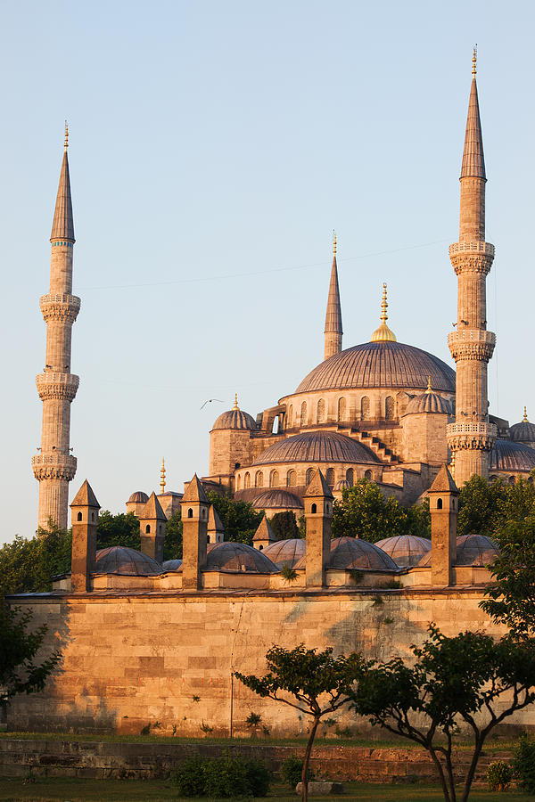 Blue Photograph - Istanbul by Artur Bogacki